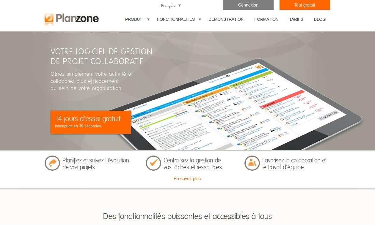 Rendez vos projets collaboratifs avec planzone for Copie ecran